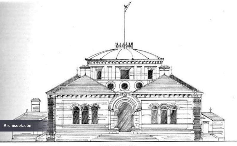 1893 – Design for Pembroke Technical Schools, Ringsend, Dublin