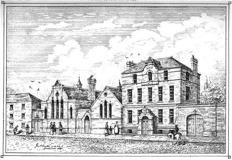 1894 – Schools & Mission, Mill Street, Dublin