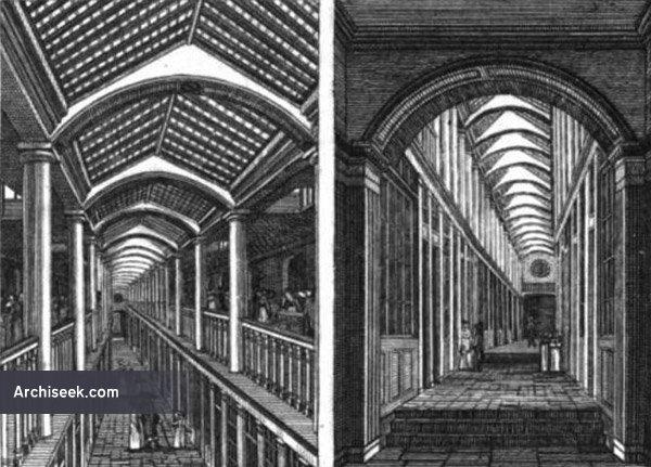 1824 – Royal Arcade and Grand Promenade, College Green, Dublin