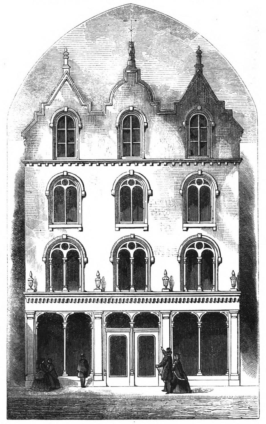 1860 – Warehouse, Nos.17-18 Mary St., Dublin