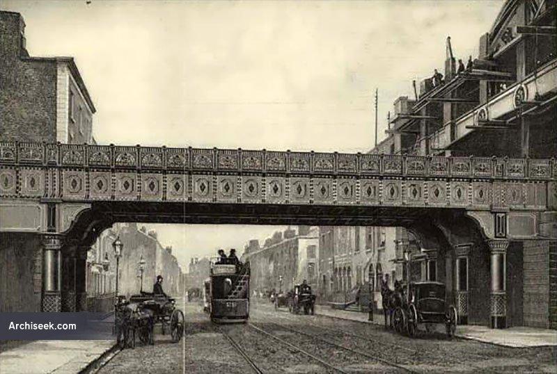 1891 – Railway Bridge, Westland Row, Dublin
