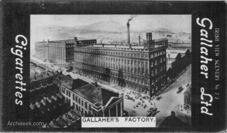 1896 &#8211; Gallaher Tobacco Factory, York Street, Belfast