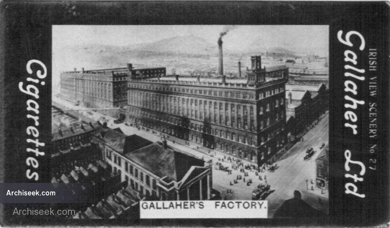 1896 – Gallaher Tobacco Factory, York Street, Belfast