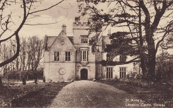 1862 &#8211; Lenaboy Castle, Galway