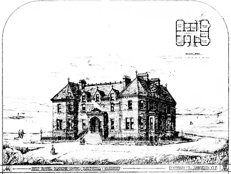 1876 – Royal Marine Hotel, Salthill, Co. Galway