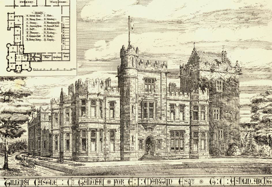 1882 – Tulira Castle, Co, Galway