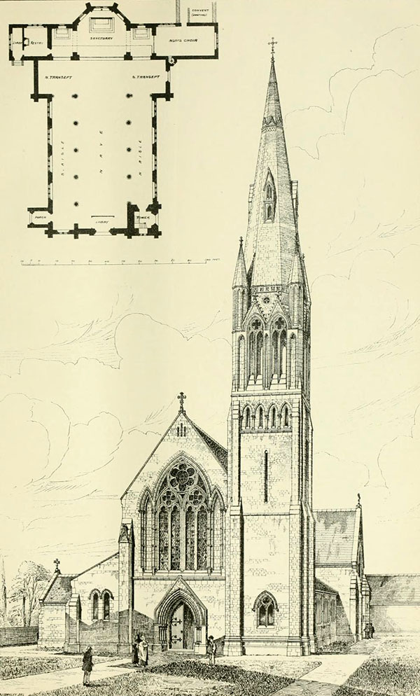 1879 &#8211; Roman Catholic Church, Castleisland, Co. Kerry