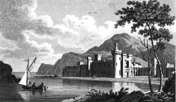 1812 &#8211; Ballyheigue Castle, Co. Kerry