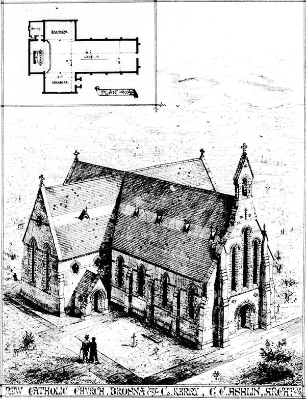 1869 – St Moling & St Carthage Church, Brosna, Co. Kerry