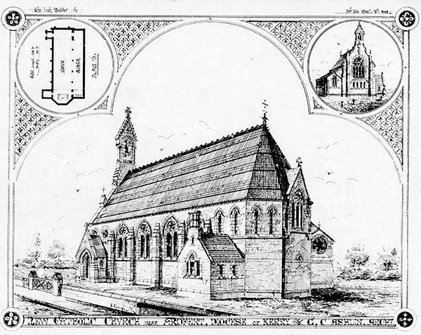 1871 – Church of the Sacred Heart, Kilmoyley, Co. Kerry