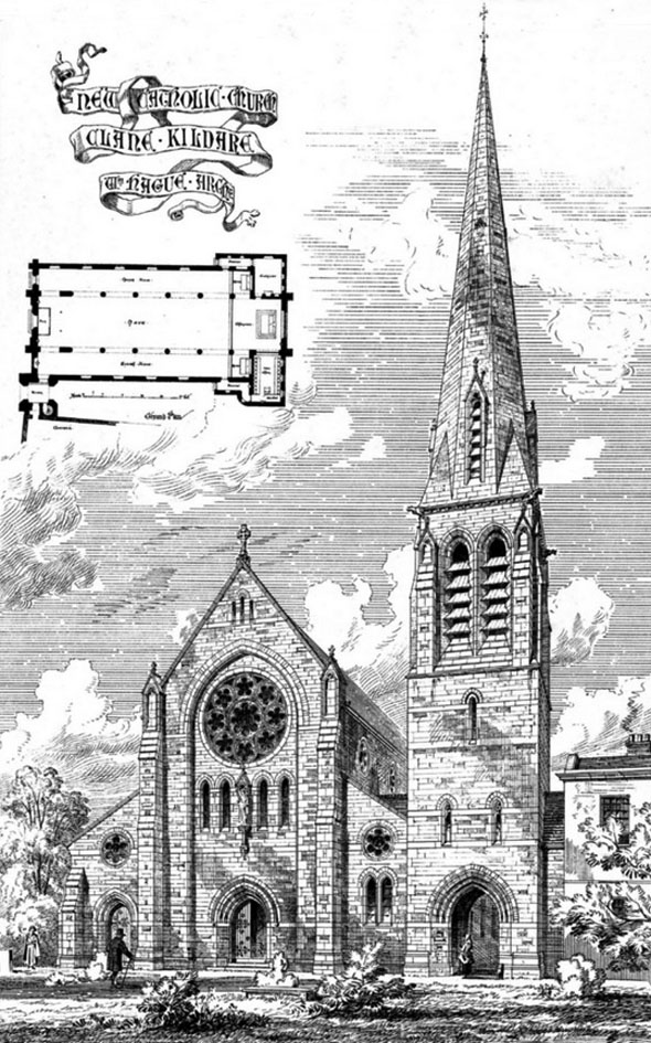 1884 &#8211; Church of St. Patrick and St. Brigid, Clane, Co. Kildare