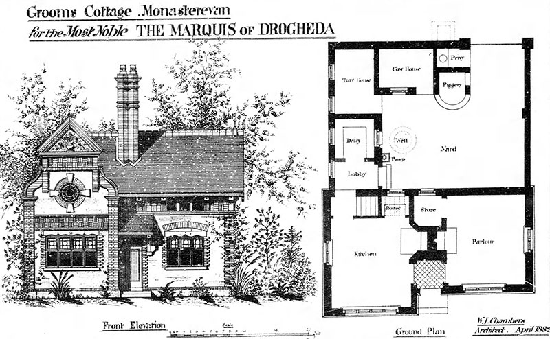 1882 – Grooms Cottage, Monasterevin, Co. Kildare