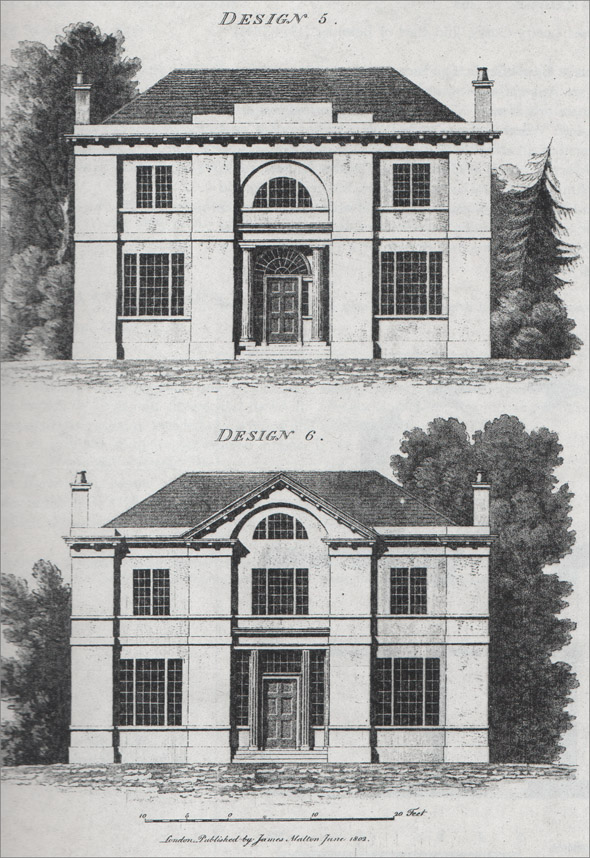 1802 &#8211; Design for house, Co. Laois