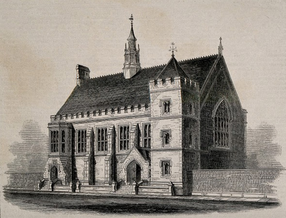 1856 &#8211; Protestant Orphan Society Hall, Limerick