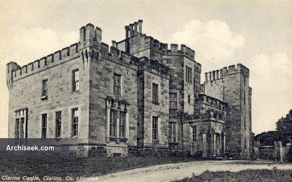 1828 – Clarina Castle, Clarina. Co. Limerick