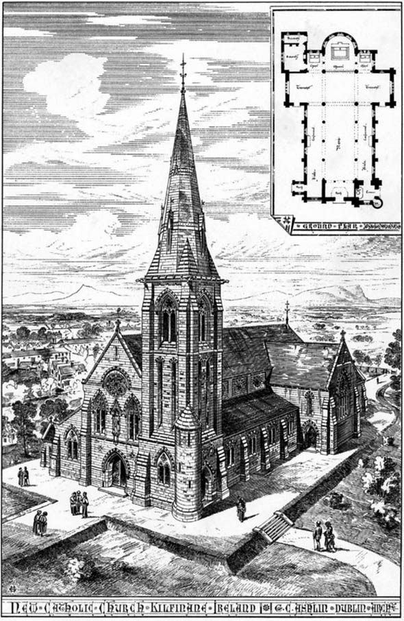 1884 – St. Finnian's Church, Kilfinane, Co. Limerick