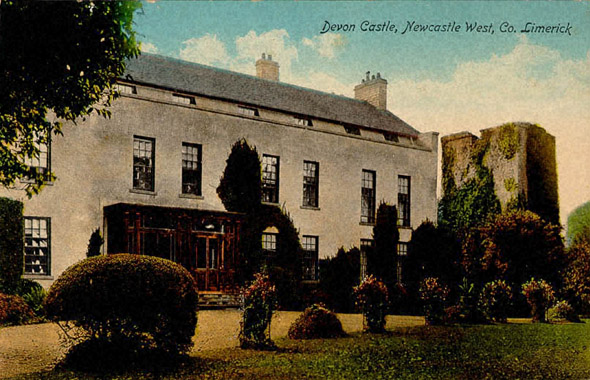 1760s &#8211; Devon Castle, Newcastle West, Co. Limerick