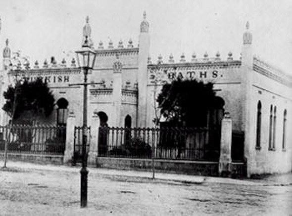 1860s &#8211; Turkish Baths, Charles St., Limerick