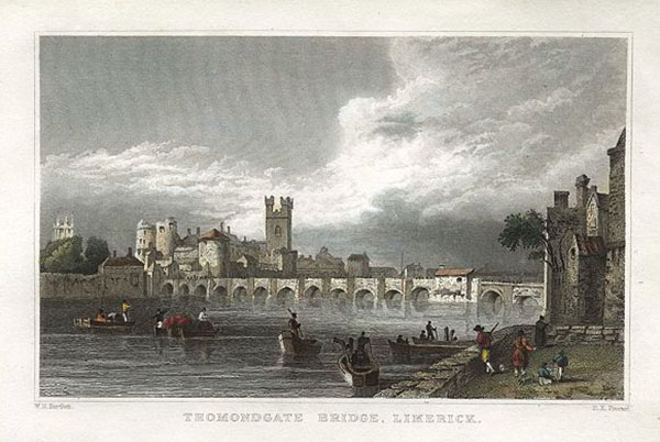 1290s – Thomondgate Bridge, Limerick, Co. Limerick