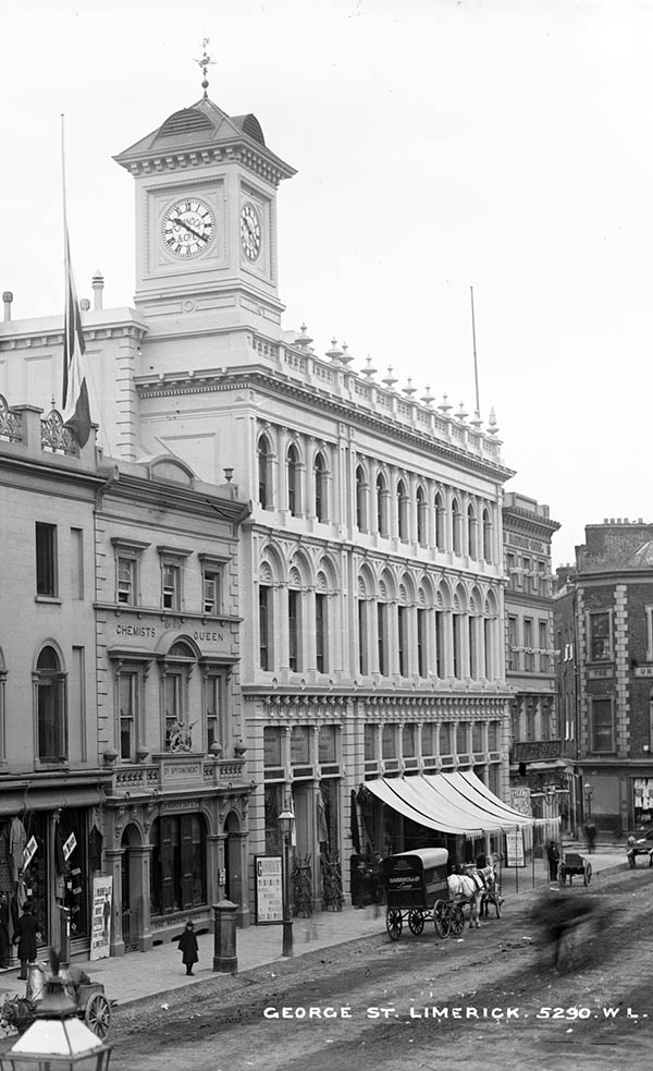 1858 – Cannock, Tait and Co. Department Store, Limerick