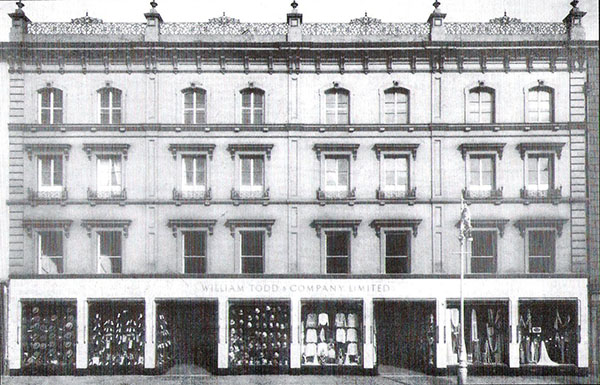 1874 – Todd's Department Store, Limerick