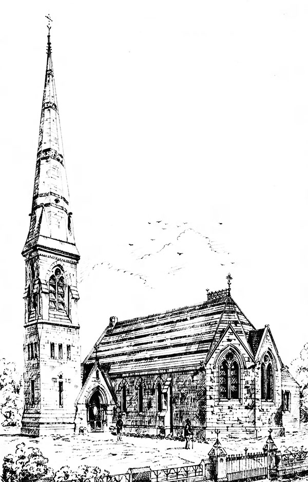 1871 – Design for Church of Ireland, Caherconlish, Co. Limerick