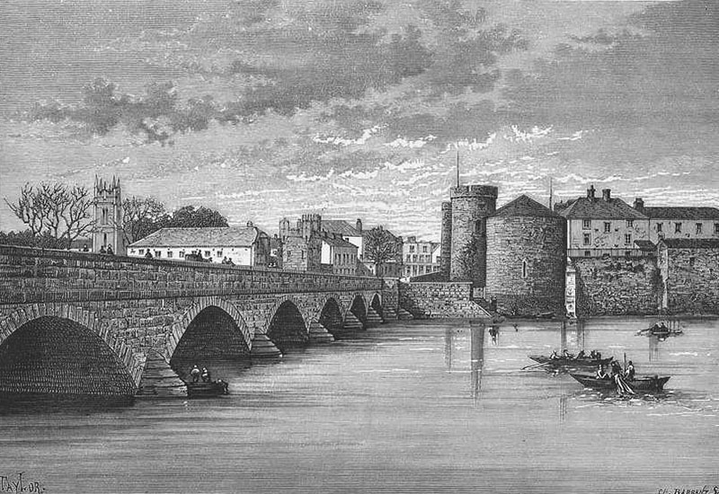 1836 – Thomond Bridge, Limerick
