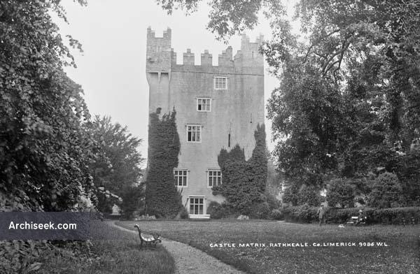 15th C. – Castle Matrix, Rathkeale, Co. Limerick