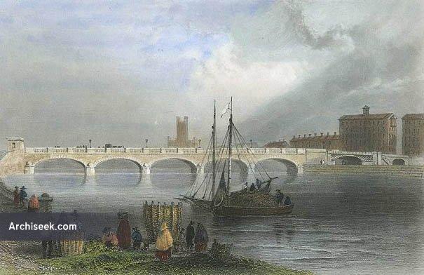 1835 – Sarsfield Bridge, Limerick