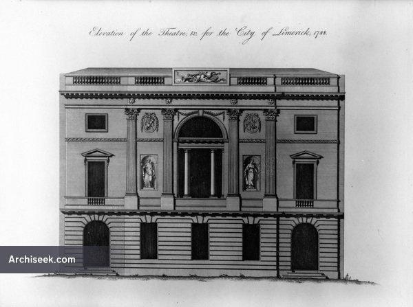 1788 – Unbuilt Design for Theatre, Limerick