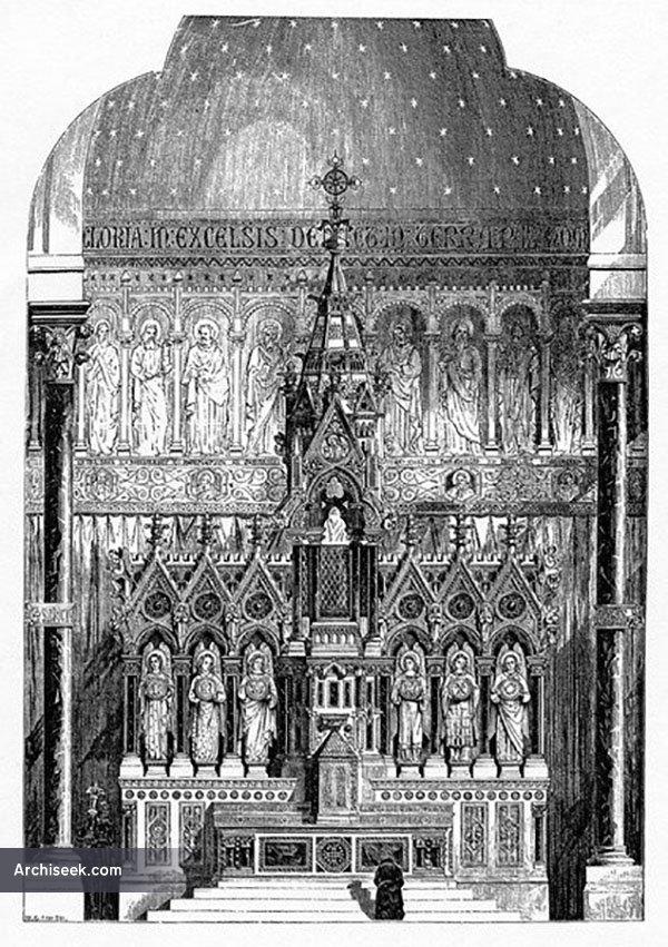 1865 – High Altar of St Alphonsus Liguori, Limerick