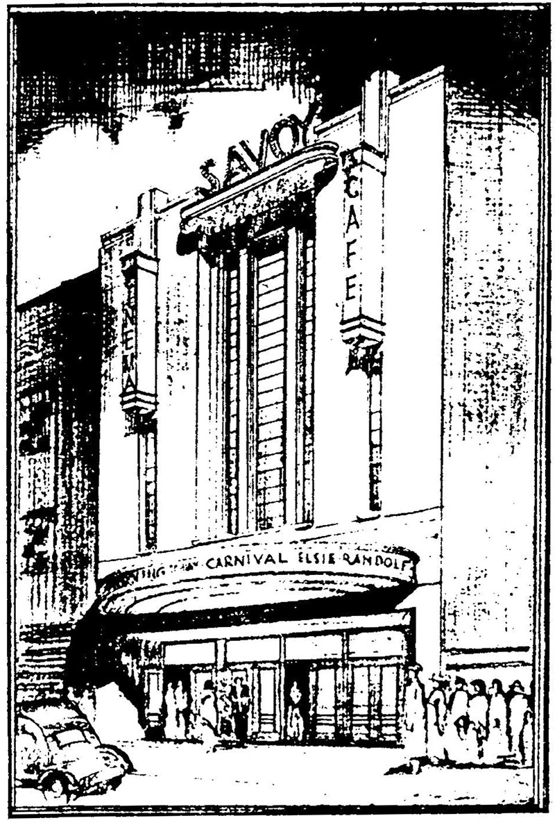 1935 – Savoy Cinema, Bedford Row, Limerick