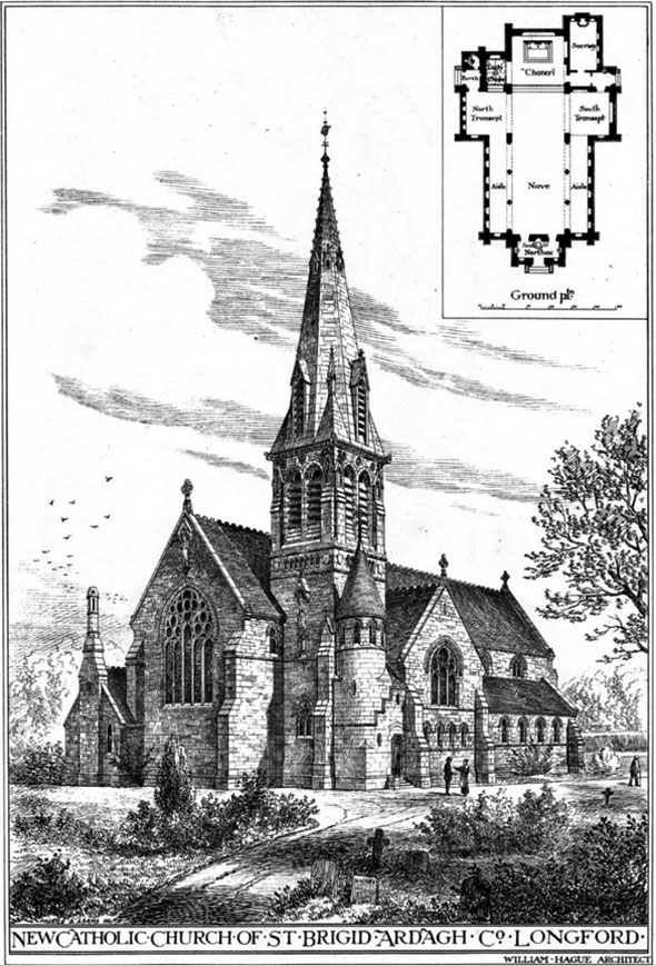 1881 &#8211; St. Brigid&#8217;s Church, Ardagh, Longford