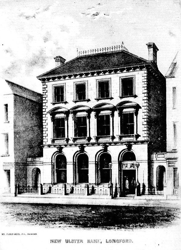 1863 – Ulster Bank, Longford, Co. Longford