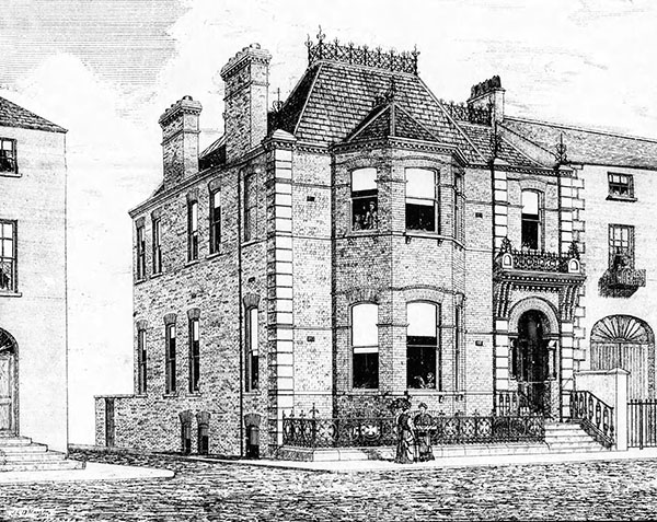 1886 – The Dundalk Club, Roden Place, Dundalk, Co. Louth
