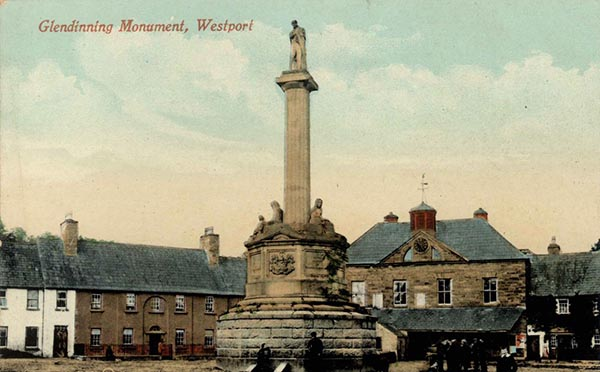 1845 – Glendinning Monument, Westport, Co. Mayo