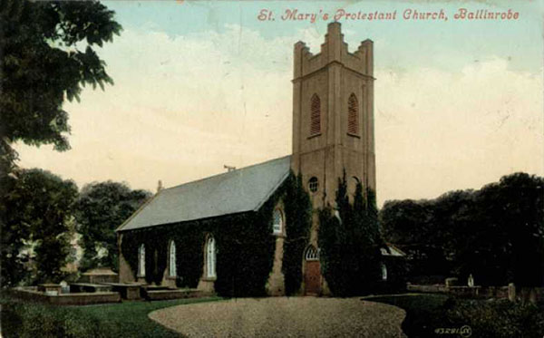 1863 – St. Mary's Church of Ireland, Ballinrobe, Co. Mayo