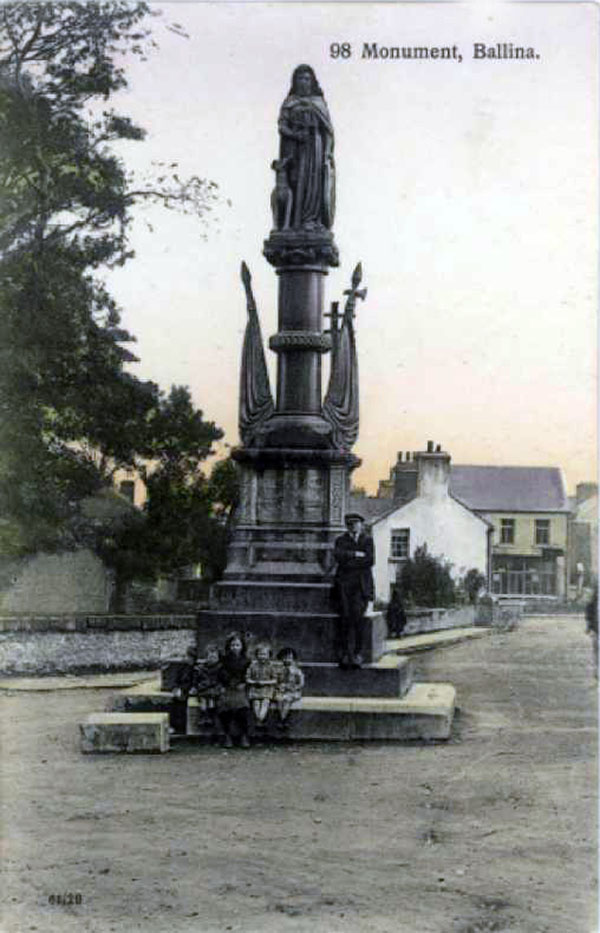 1898 –  Humbert Monument, Ballina, Co. Mayo