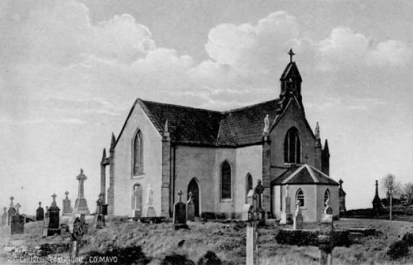 1838 – St. Joseph's Church, Ballindine, Co. Mayo