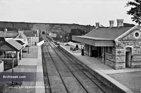 1892 – Railway Station, Newport, Co. Mayo