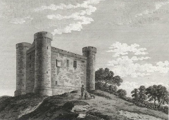 1450 – Dunmoe Castle, Co.Meath