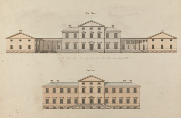 1765 &#8211; Unbuilt Design for Headfort House, Co. Meath