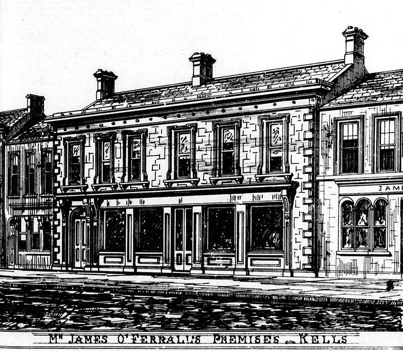1873 - O'Ferrall's, Kells, Co. Meath - Architecture of Meath ...