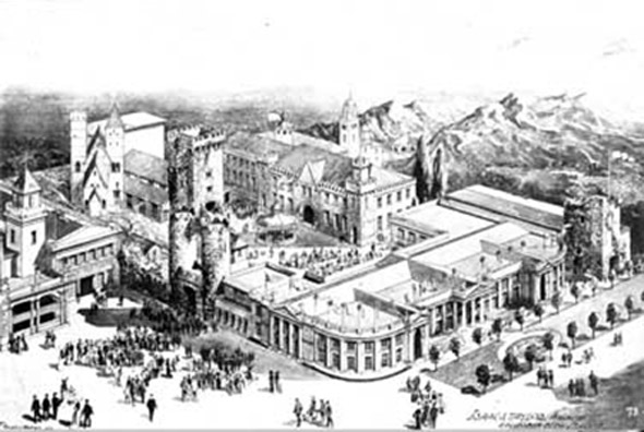 1904 – Irish Village, St. Louis World's Fair