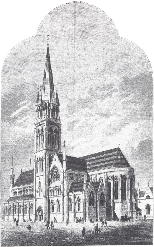 1861 – Design for St. Macartan's Cathedral, Monaghan, Co. Monaghan
