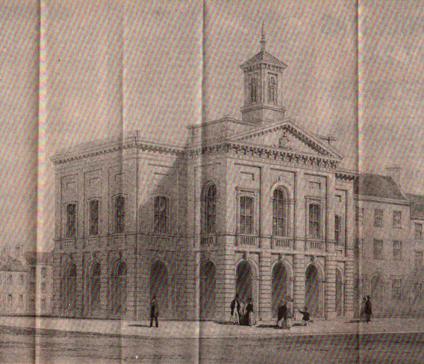 1844 – Design for Market House, Clones, Co. Monaghan