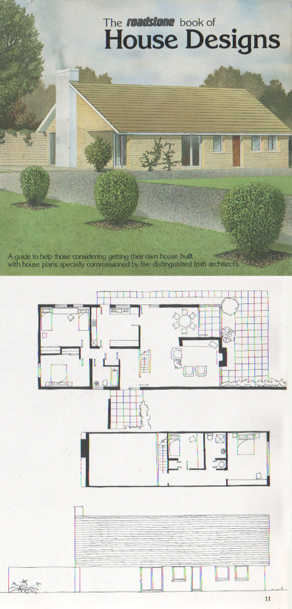 1980 The Roadstone Book Of House Designs 1 Unbuilt Ireland Archiseek Irish Architecture