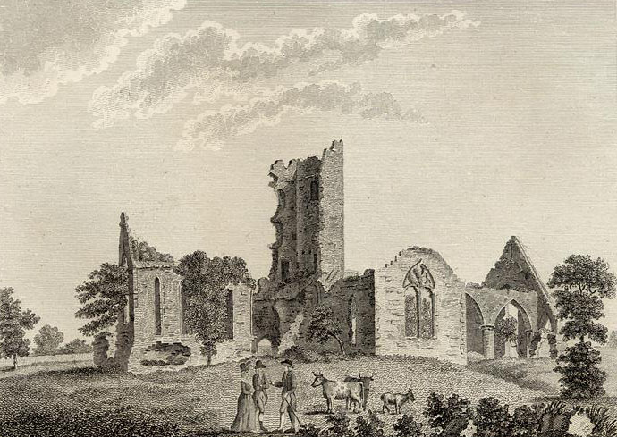 1257 – Roscommon Abbey, Co. Roscommon