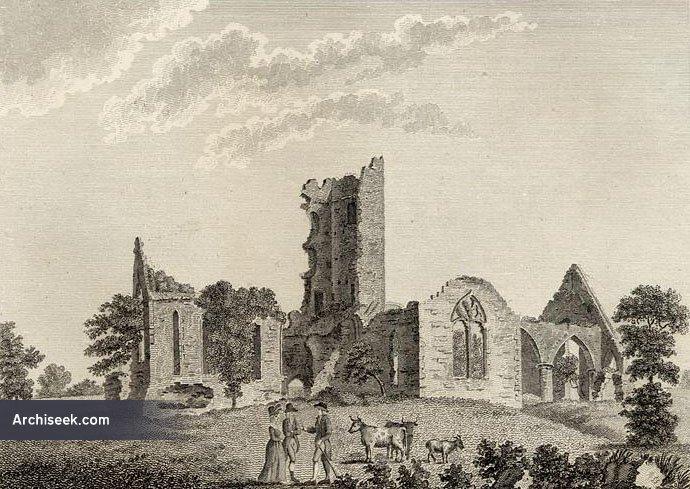 1257 – Roscommon Abbey, Co. Roscommon