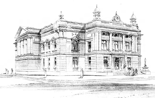 1883 – Design for Roscommon Courthouse